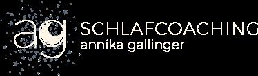 Schlafcoaching für Babys und Kleinkinder – Annika Gallinger Logo